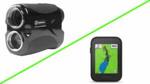 gps vs laser golf rangefinders
