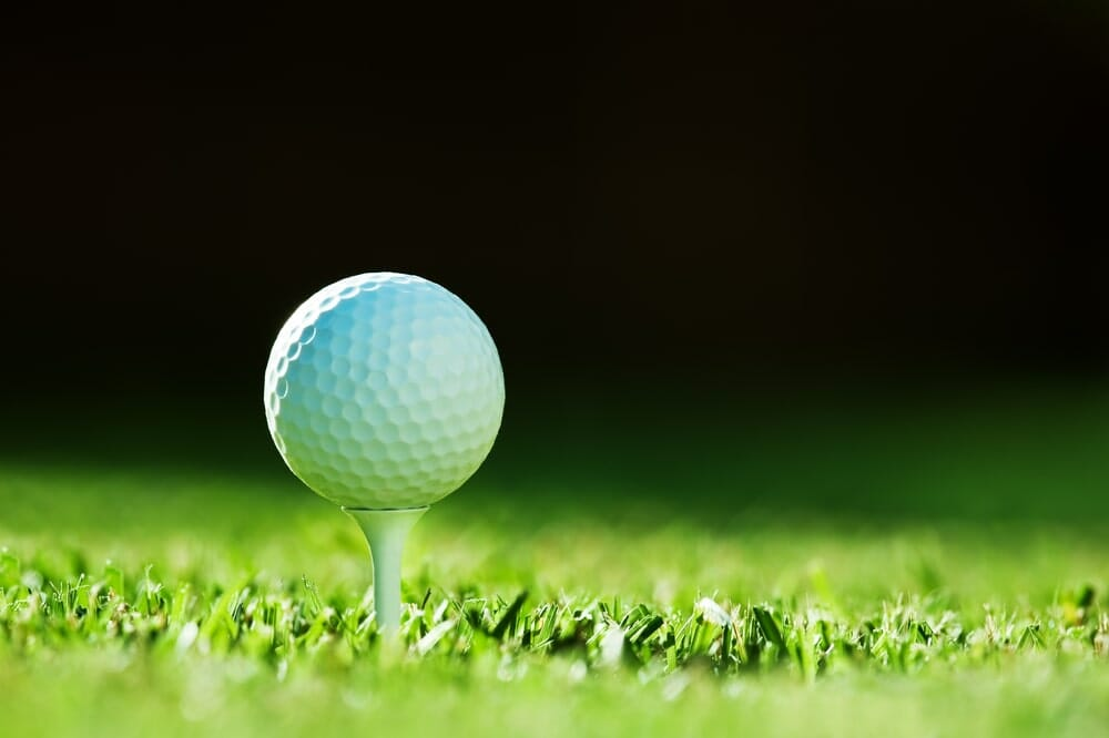 What are the dimensions and weight of a golf ball